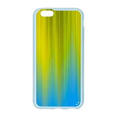 Yellow Blue Green Apple Seamless iPhone 6/6S Case (Color)