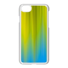 Yellow Blue Green Apple Iphone 7 Seamless Case (white)