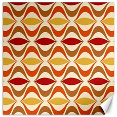 Wave Orange Red Yellow Rainbow Canvas 20  x 20