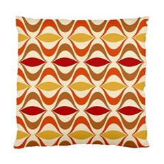 Wave Orange Red Yellow Rainbow Standard Cushion Case (One Side)