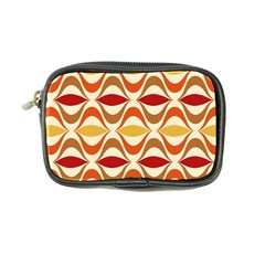 Wave Orange Red Yellow Rainbow Coin Purse