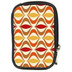 Wave Orange Red Yellow Rainbow Compact Camera Cases