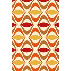 Wave Orange Red Yellow Rainbow 5.5  x 8.5  Notebooks