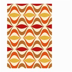 Wave Orange Red Yellow Rainbow Small Garden Flag (Two Sides)