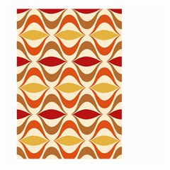Wave Orange Red Yellow Rainbow Large Garden Flag (Two Sides)
