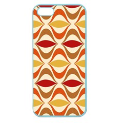 Wave Orange Red Yellow Rainbow Apple Seamless iPhone 5 Case (Color)