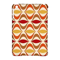 Wave Orange Red Yellow Rainbow Apple iPad Mini Hardshell Case (Compatible with Smart Cover)