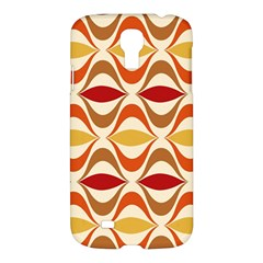 Wave Orange Red Yellow Rainbow Samsung Galaxy S4 I9500/I9505 Hardshell Case