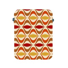 Wave Orange Red Yellow Rainbow Apple iPad 2/3/4 Protective Soft Cases