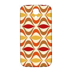 Wave Orange Red Yellow Rainbow Samsung Galaxy S4 I9500/I9505  Hardshell Back Case
