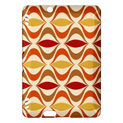Wave Orange Red Yellow Rainbow Kindle Fire HDX Hardshell Case