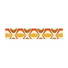 Wave Orange Red Yellow Rainbow Flano Scarf (Mini)