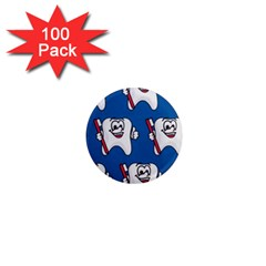 Tooth 1  Mini Magnets (100 pack)