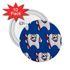Tooth 2.25  Buttons (10 pack)