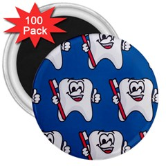 Tooth 3  Magnets (100 pack)