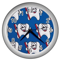 Tooth Wall Clocks (Silver)