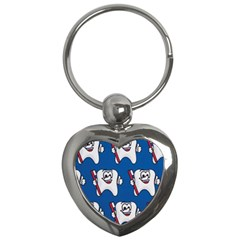 Tooth Key Chains (Heart)