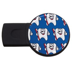 Tooth USB Flash Drive Round (1 GB)