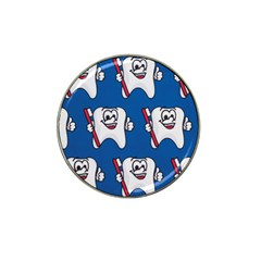 Tooth Hat Clip Ball Marker (4 pack)