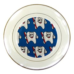 Tooth Porcelain Plates