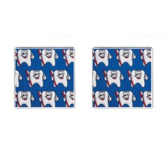 Tooth Cufflinks (Square)