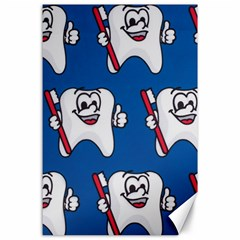 Tooth Canvas 24  x 36