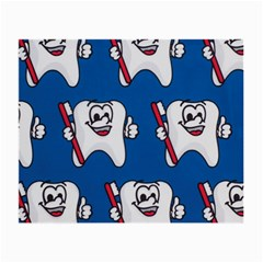 Tooth Small Glasses Cloth (2-Side)