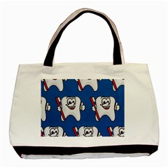 Tooth Basic Tote Bag (Two Sides)