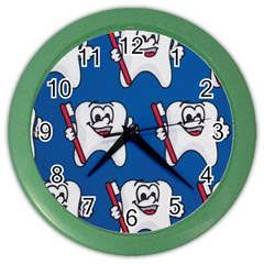 Tooth Color Wall Clocks