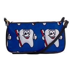 Tooth Shoulder Clutch Bags