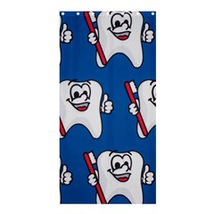 Tooth Shower Curtain 36  x 72  (Stall)
