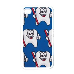 Tooth Apple iPhone 4 Case (White)