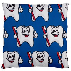 Tooth Large Cushion Case (One Side)