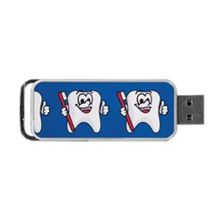 Tooth Portable USB Flash (Two Sides)