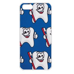 Tooth Apple iPhone 5 Seamless Case (White)