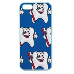 Tooth Apple Seamless iPhone 5 Case (Color)