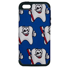 Tooth Apple iPhone 5 Hardshell Case (PC+Silicone)