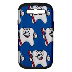 Tooth Samsung Galaxy S III Hardshell Case (PC+Silicone)