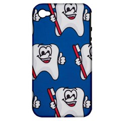 Tooth Apple iPhone 4/4S Hardshell Case (PC+Silicone)