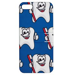 Tooth Apple iPhone 5 Hardshell Case with Stand