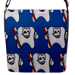 Tooth Flap Messenger Bag (S)