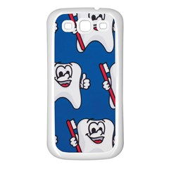Tooth Samsung Galaxy S3 Back Case (White)
