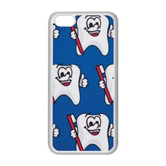 Tooth Apple iPhone 5C Seamless Case (White)