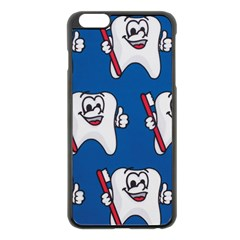 Tooth Apple iPhone 6 Plus/6S Plus Black Enamel Case