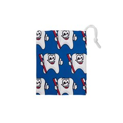 Tooth Drawstring Pouches (XS)