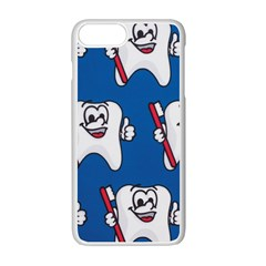 Tooth Apple Iphone 7 Plus White Seamless Case