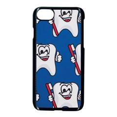 Tooth Apple iPhone 7 Seamless Case (Black)