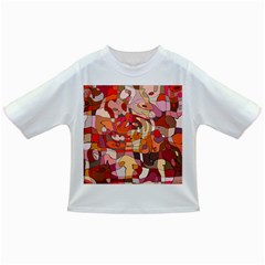 Abstract Abstraction Pattern Modern Infant/Toddler T-Shirts