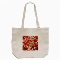 Abstract Abstraction Pattern Modern Tote Bag (Cream)
