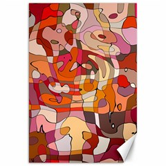 Abstract Abstraction Pattern Modern Canvas 20  x 30